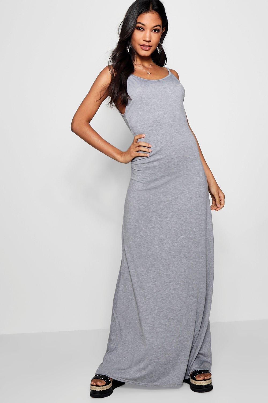 Boohoo Womens Libby Strappy Maxi Dress