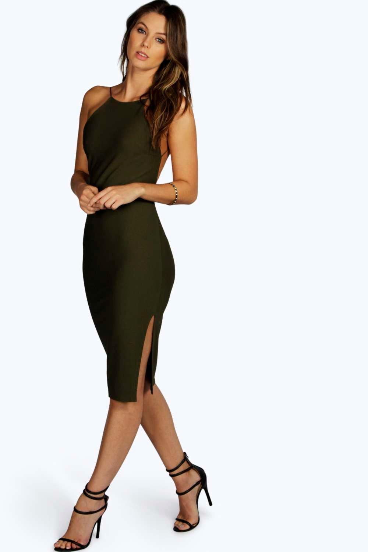 Low-Back Bodycon Dresses