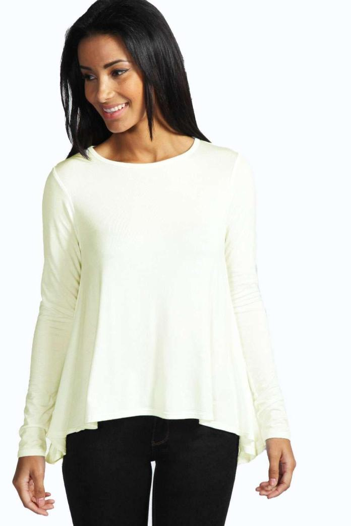 Charlotte Long Sleeved Top Boohoo