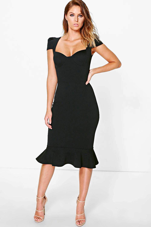 Midi Peplum Dresses