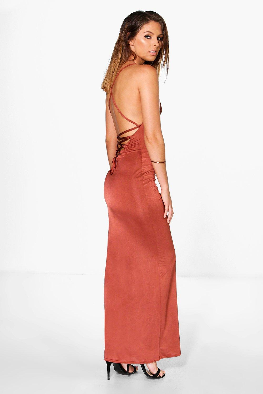 Maxi Dress with Strappy Back