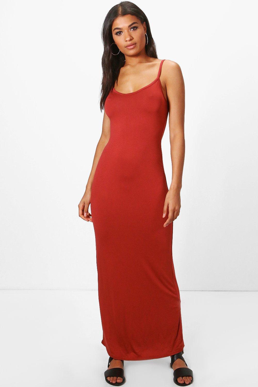 Strappy Cami Maxi Dress