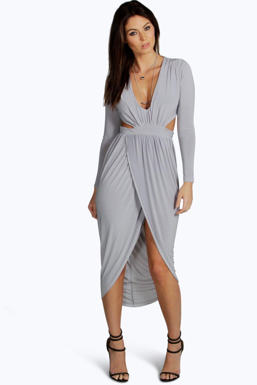Wrap Midi Dresses for Women