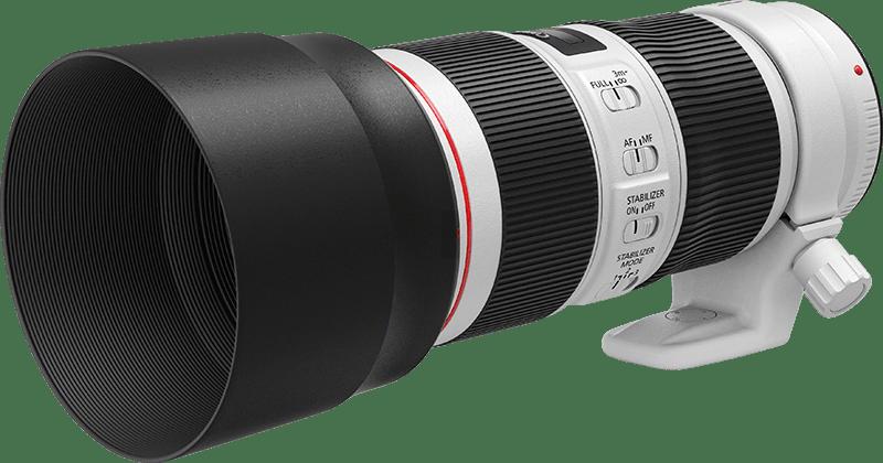 EF 70-200mm f/4L IS II USM FSL with hood