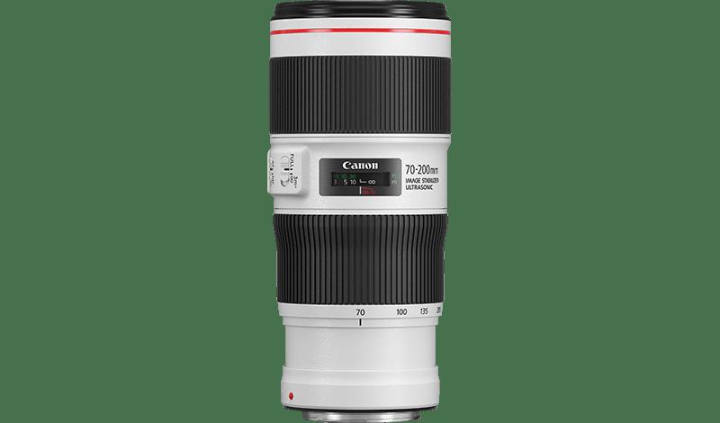 EF 70-200mm f/4L IS II USM side