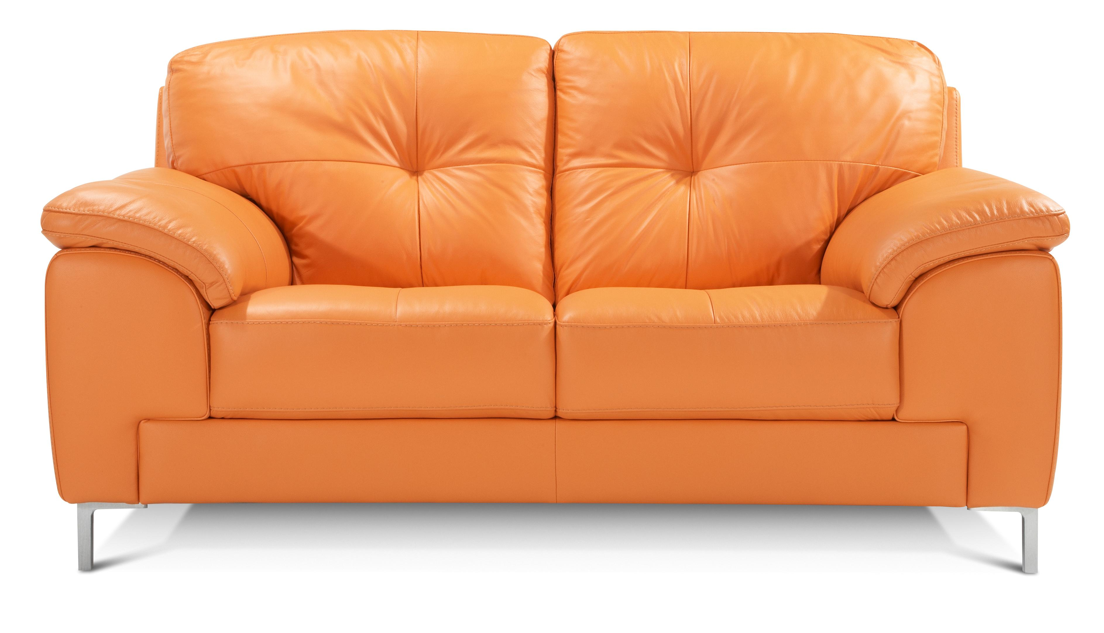 orange sofas ebay short sectional sofa dfs ainsley 100 real leather 2 seater