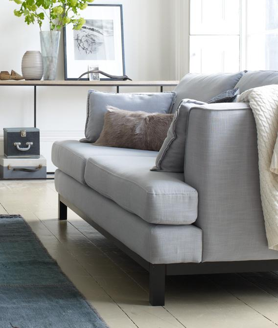 fabric sofas in a range of styles