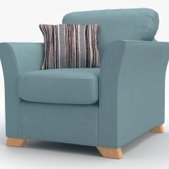 Chair Bed Stool Sturdy Dining Room Chairs Dfs Zuma Sky Blue Fabric Range 3 Seater 2 Str Sofa