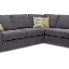Dfs Corner Sofa Grey Fabric That Transforms Into A Bunk Bed Astaire Graphite Left Hand Facing