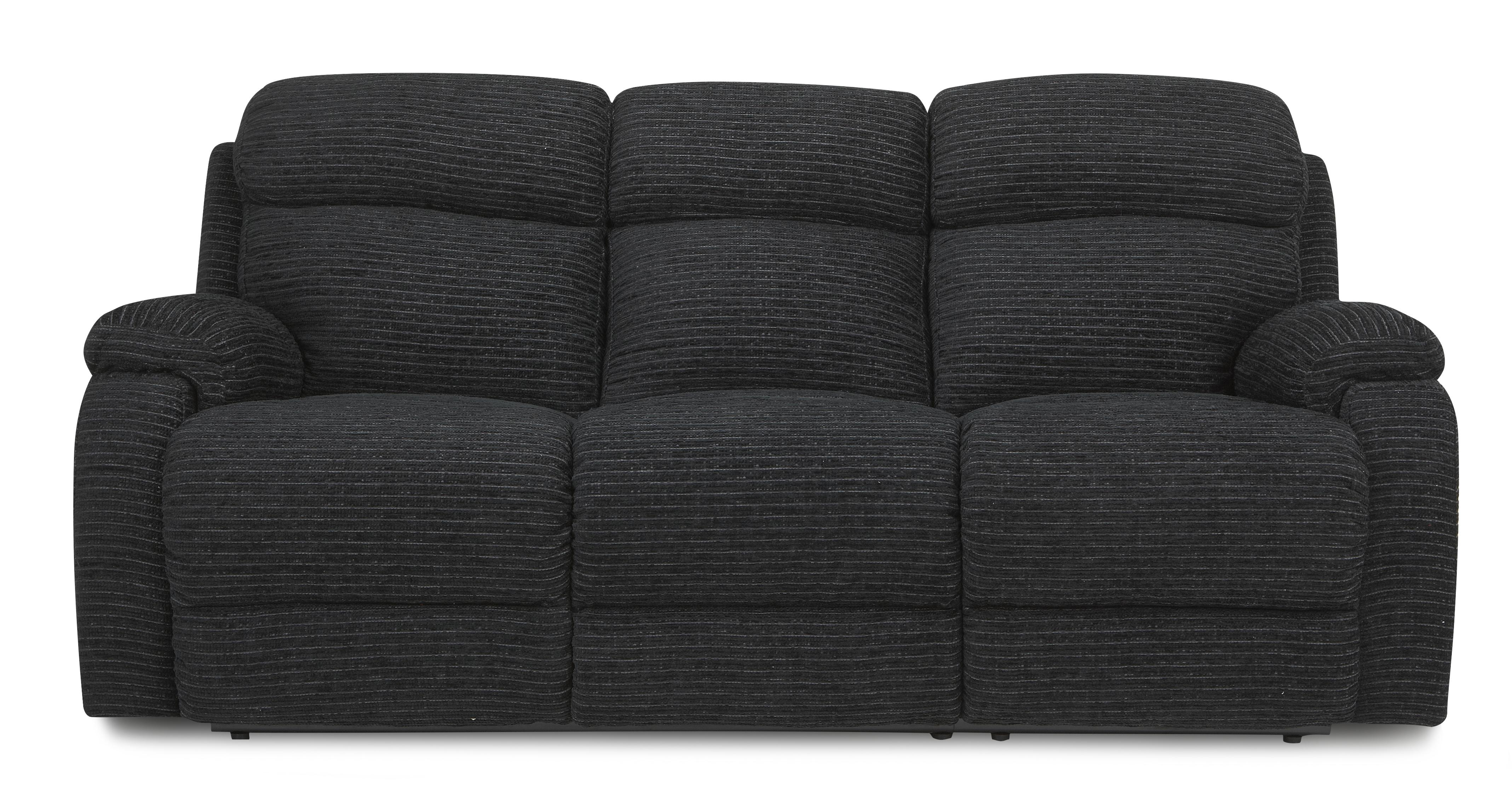 dfs recliner sofa bed small white curved barford black setteefabric couch 3 seater manual