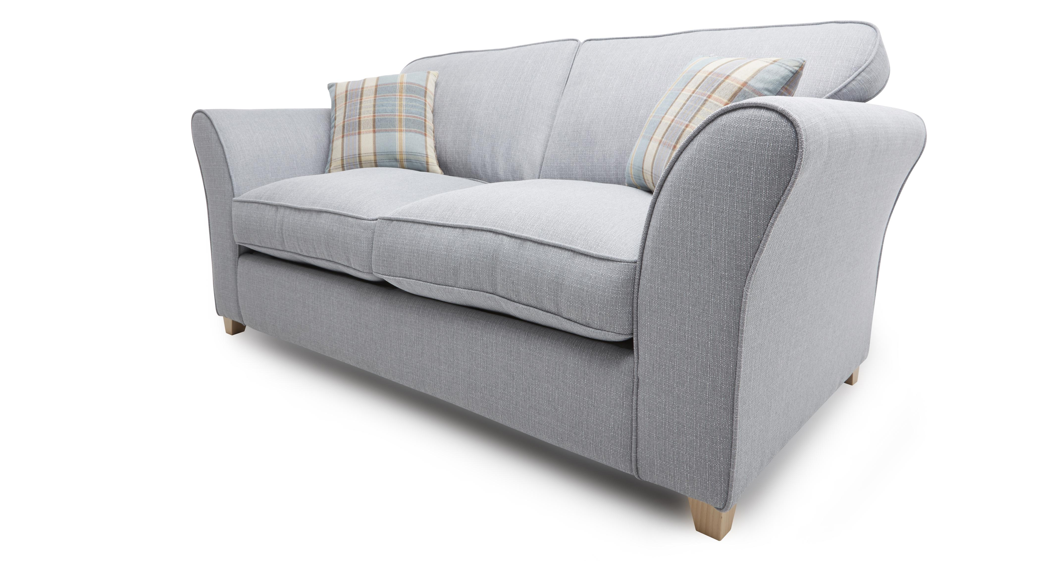 how to wash dfs sofa cushions leather with bed pull out brixham blue fabric 2 seater and pattern