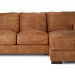 100 Real Leather Corner Sofa Replacement Cushions Covers Dfs Caesar Natural Aniline Right Hand