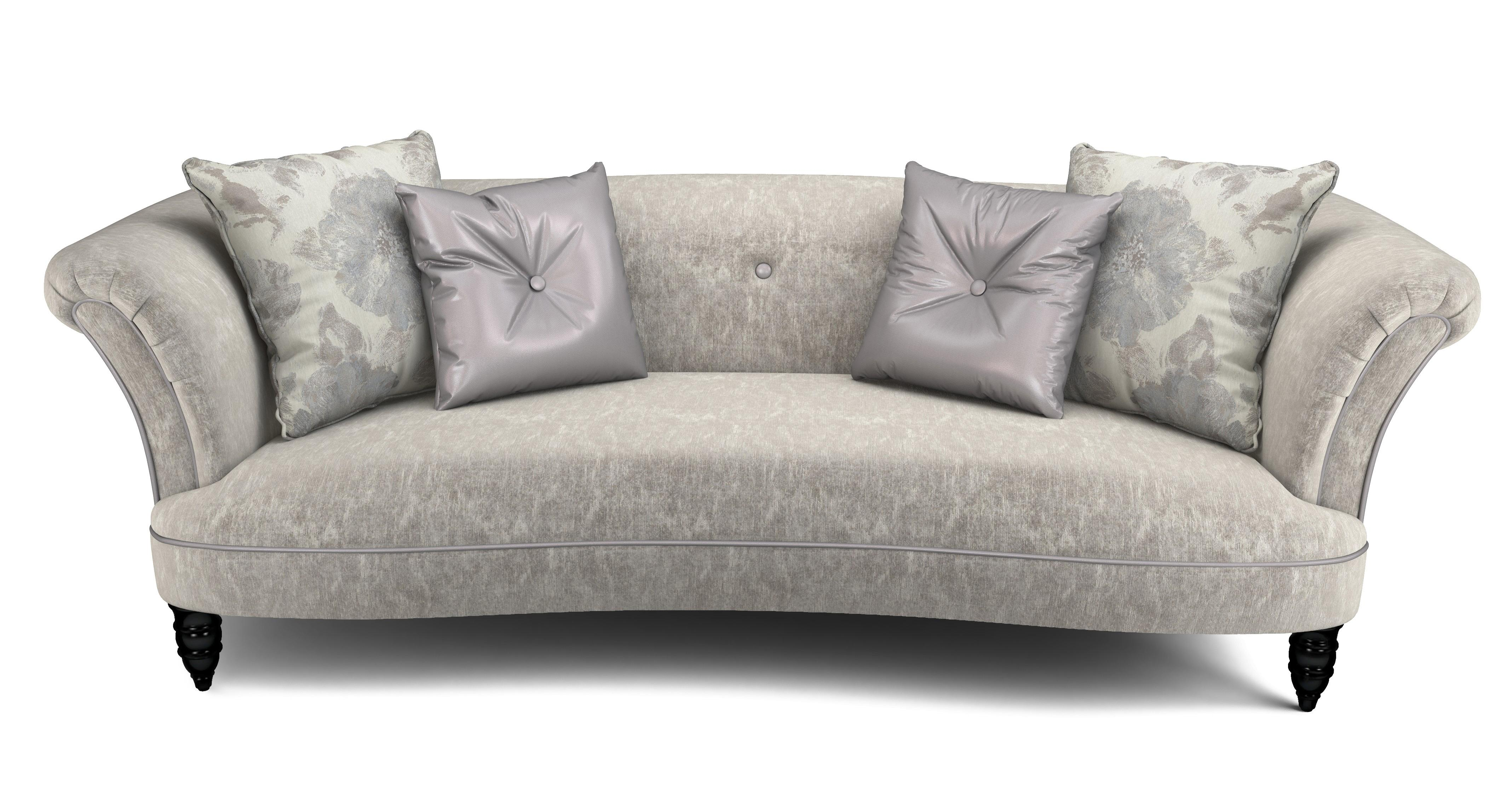 oval sofa high back 2 seater sofas dfs concerto fabric 4 cuddler and