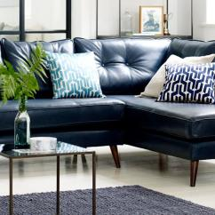 Large Dark Grey Corner Sofa Ikea Klippan Cover Singapore Sofas In Leather Or Fabric Styles Dfs Exclusive Brands From