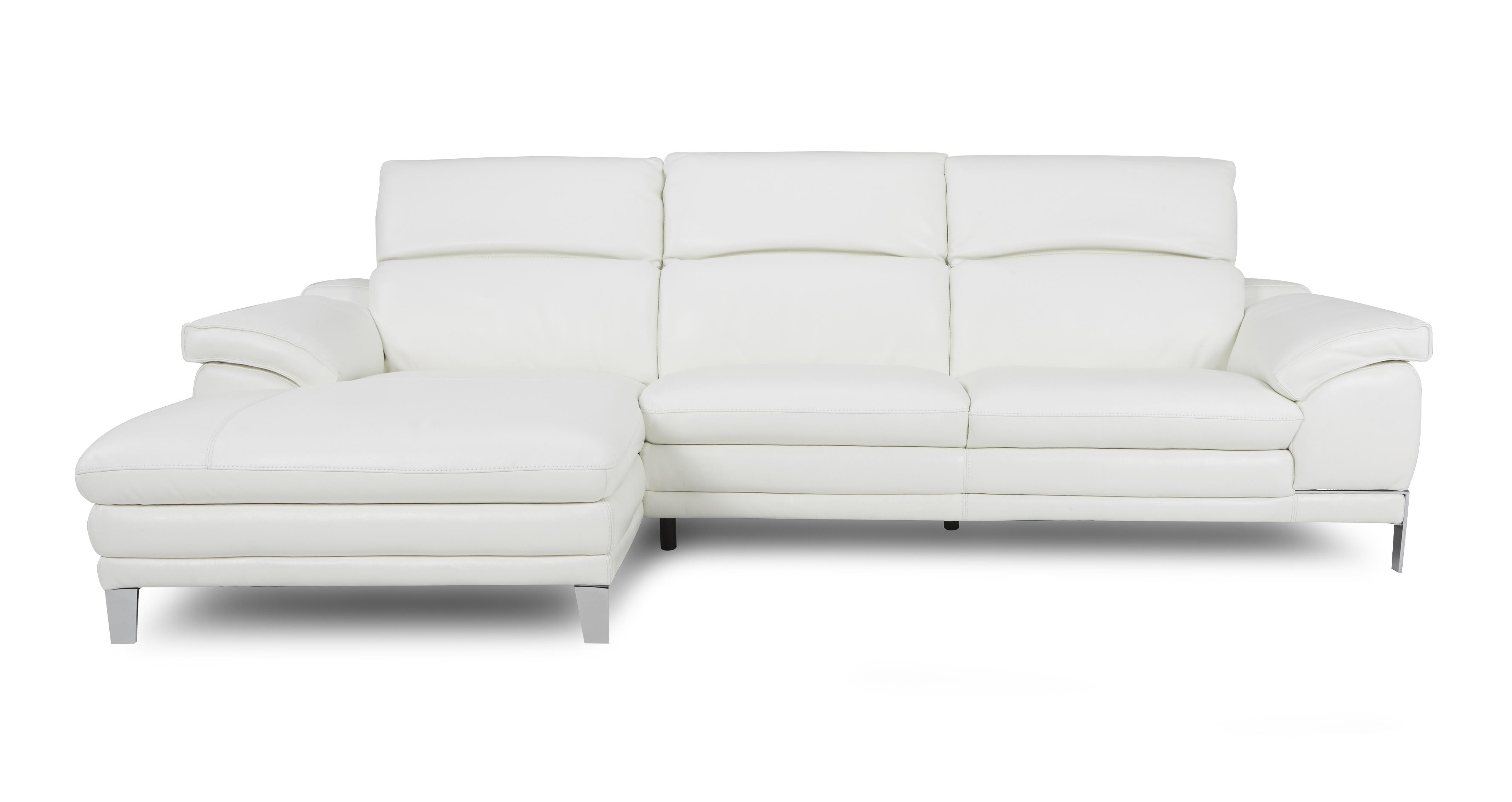 large chaise sofa dfs corner bed with storage argos corso option b left hand facing end new