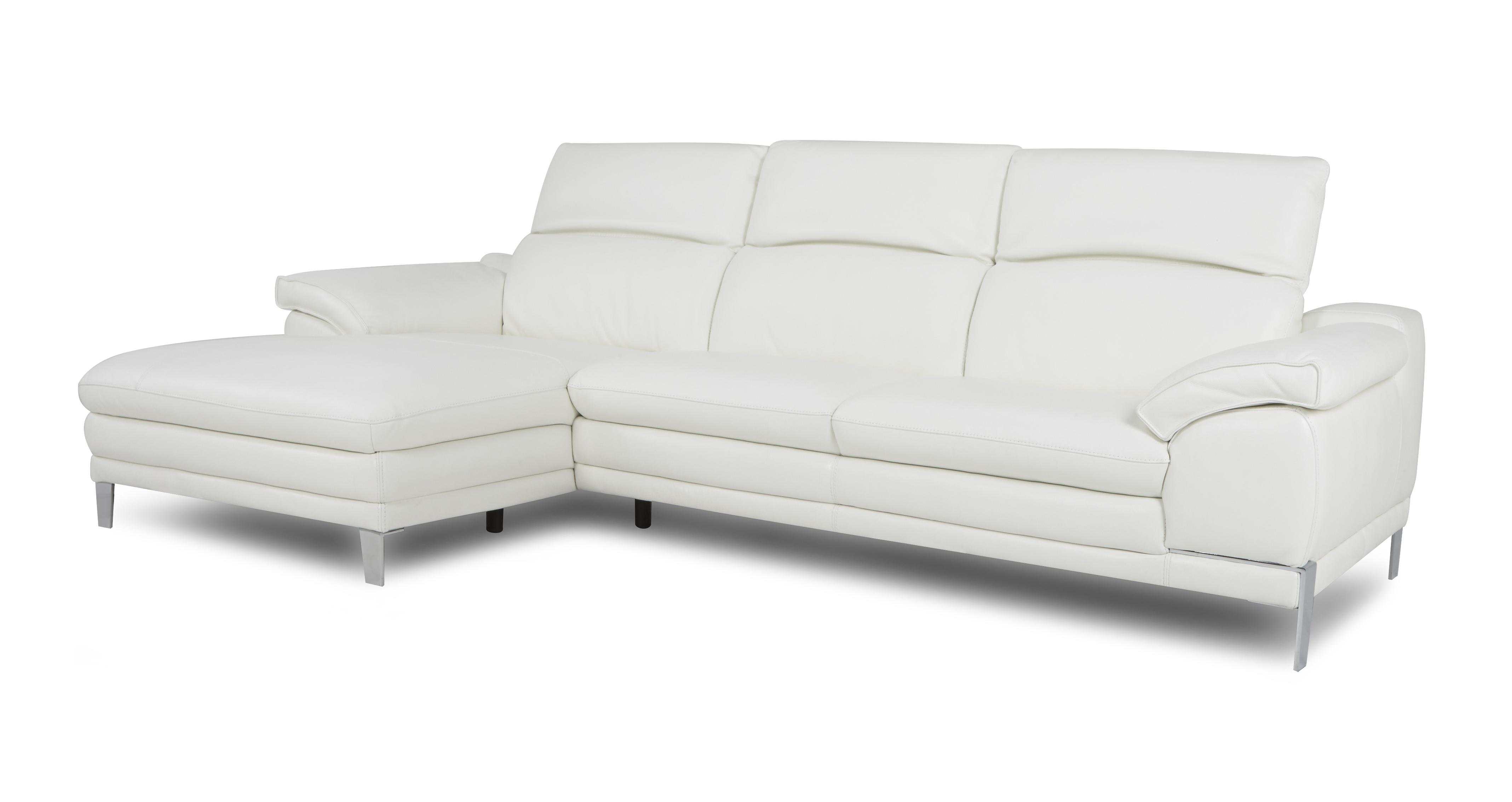 large chaise sofa dfs sabrina sectional corso option b left hand facing end new