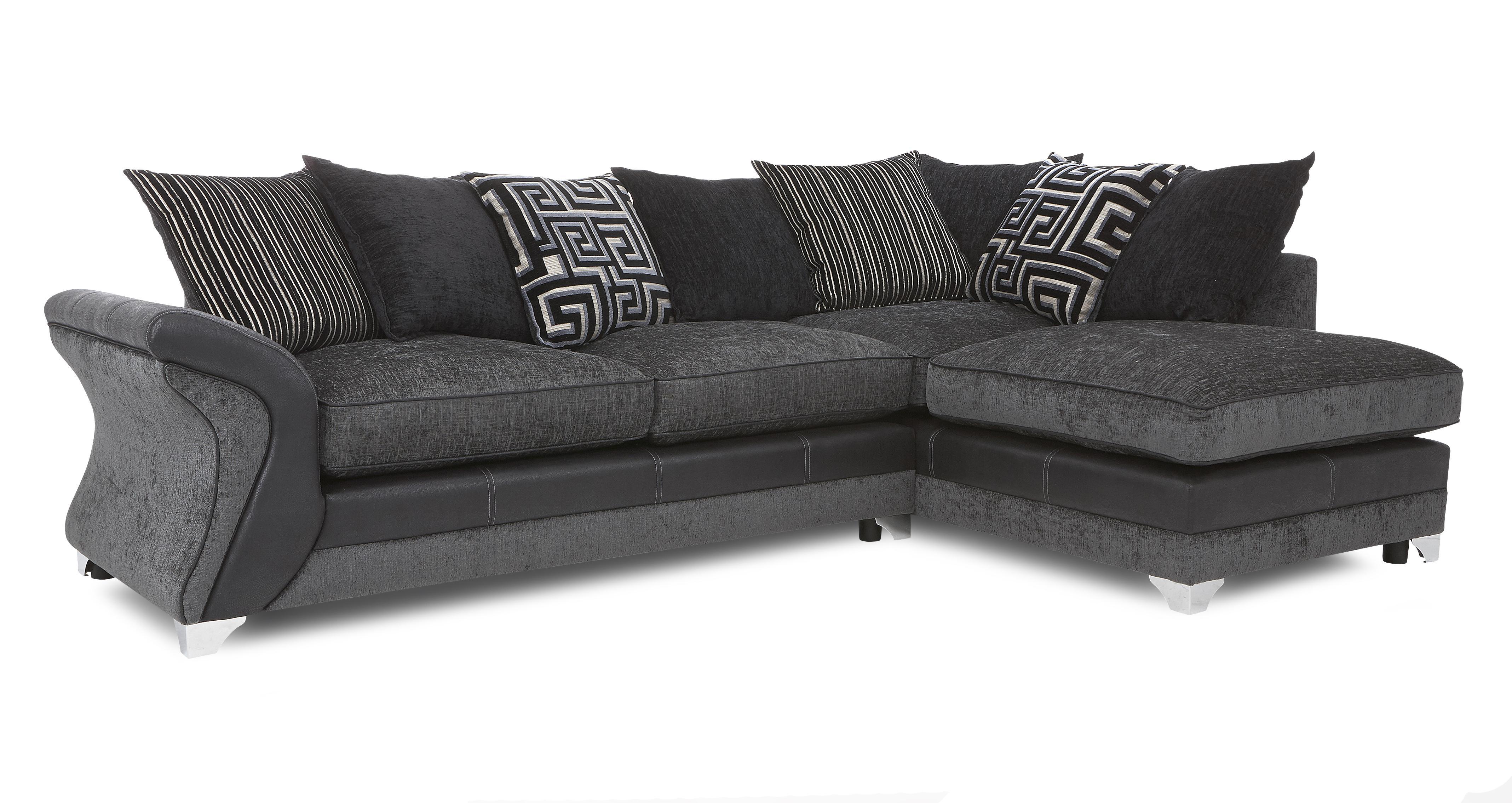 dfs corner sofa and swivel chair ottawa senators boston bruins sofascore dare charcoal fabric set inc chaise
