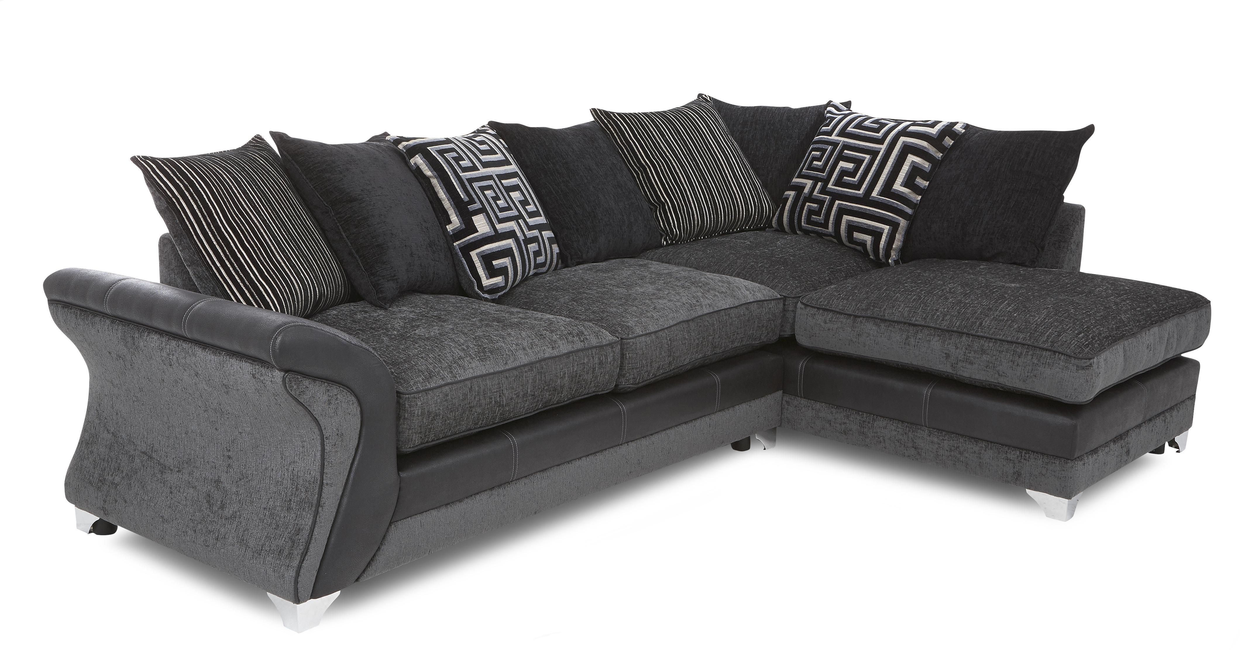 dfs corner sofa and swivel chair dhi buchannan microfiber reviews dare charcoal fabric set inc chaise