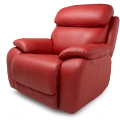 Rosso Red Leather 3 Piece Sofa Set 2 Person Dfs Daytona Rocker Recliner Chair Ebay