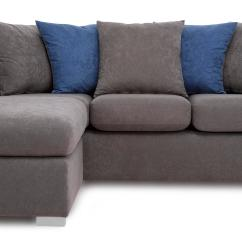Dfs Corner Sofa Grey Fabric Sure Fit Stretch Pique 2 Pc Slipcover Studio Left Or Right Hand Facing