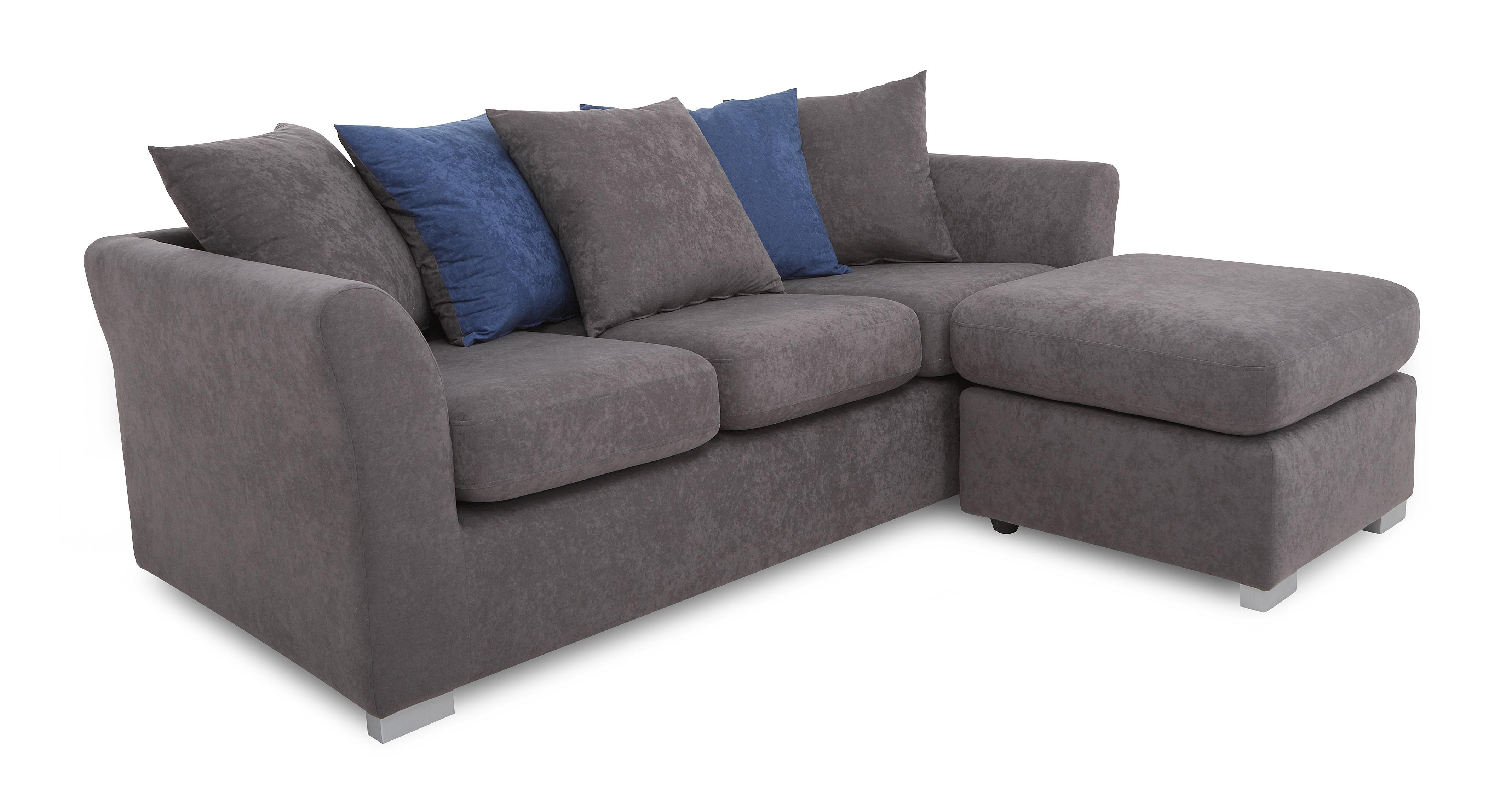 sofas direct from factory uk black leather loveseat sofa dfs studio fabric corner left or right hand facing ebay