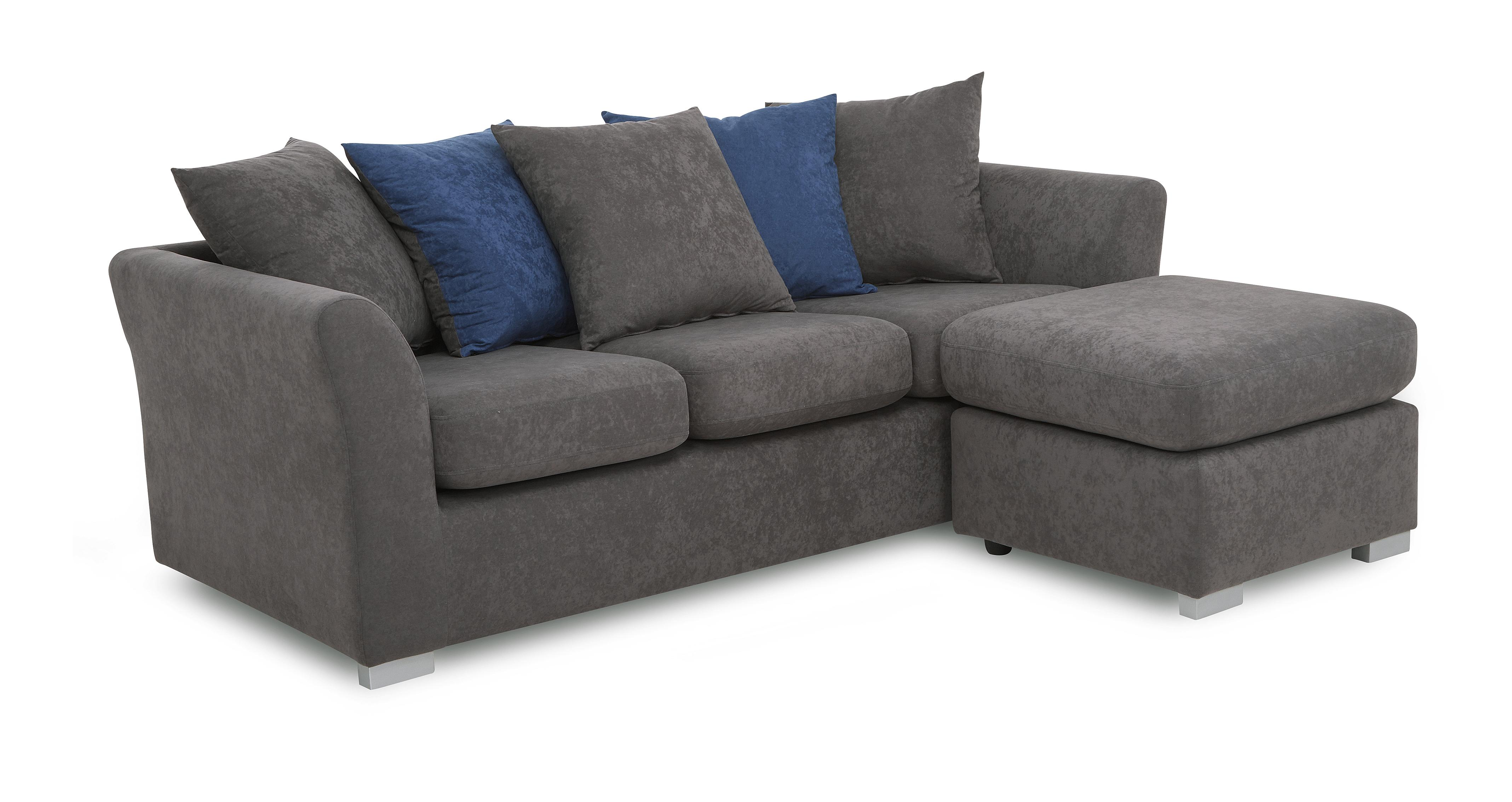 corner sofa bed roma grey modern office waiting room simple double with pull