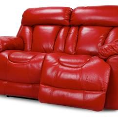 Red Leather Two Seater Sofa Design Latest 2017 Dfs Supreme Settee 2 Power Recliner