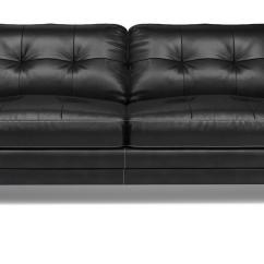 3 Seater Leather Sofa Dfs Chester Tufted Review Domain Set Includes Black With