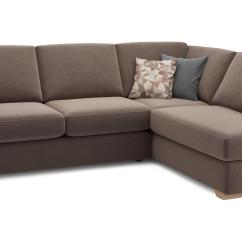 Brown Fabric Corner Sofa Dfs Natuzzi Sofas Domino Eleanor Mocha Left Arm Facing Open End