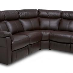 Brown Fabric Corner Sofa Dfs Kam Bade Ellis Option B Leather And Look Left Arm Facing 2