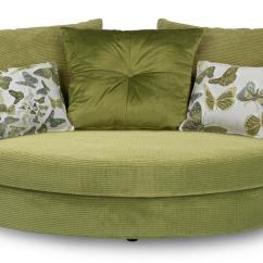 Lime Sofa Chair Hariston Ake Dfs Escape Green Fabric Set Bed Cuddler