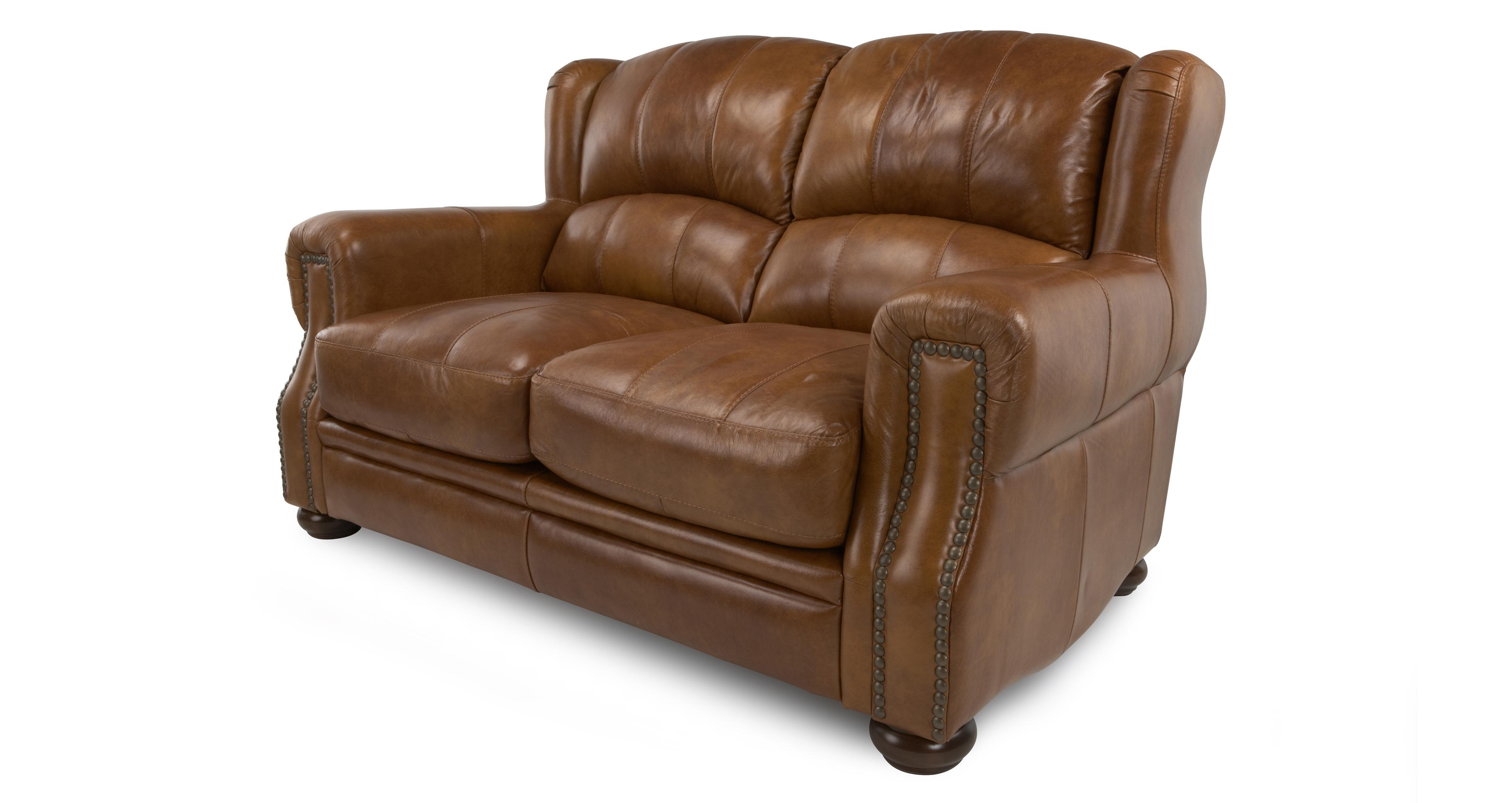 vine brown leather sofa ebay lack table images dfs hale natural chestnut suite 2 seater