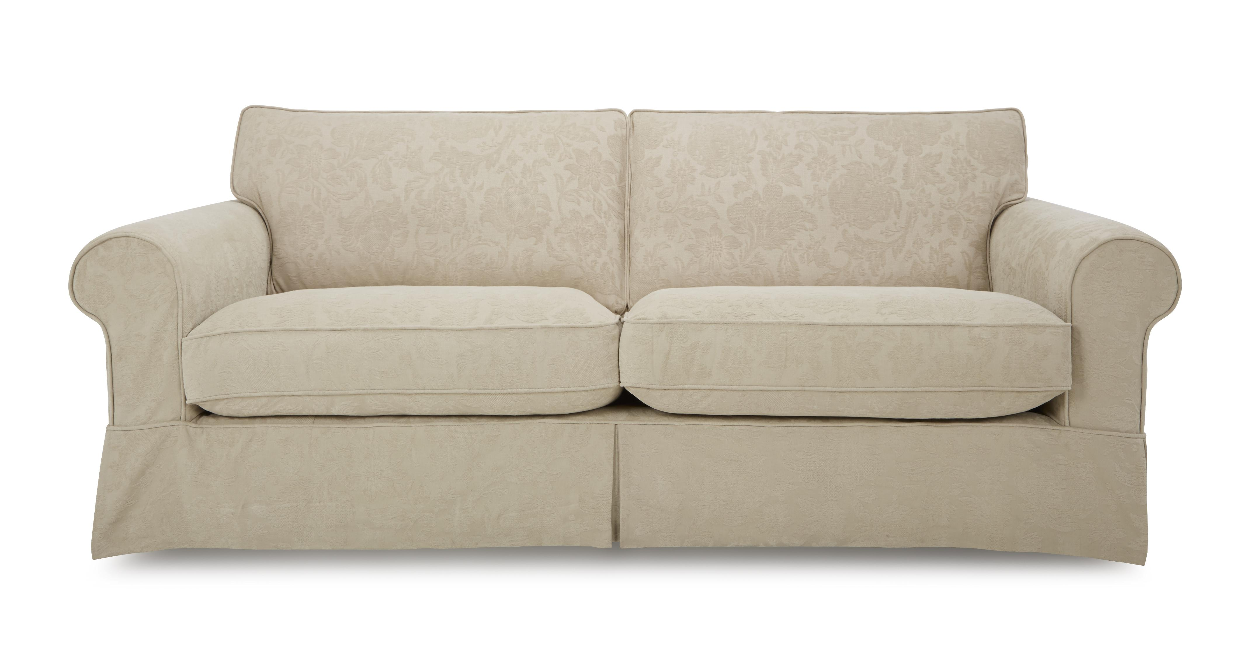 patterned sofas uk sears sofa bed double dfs kendal linen pattern fabric formal back grand ebay