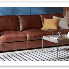 Leather Sofa Brown Dfs Thin Tables Sofas Corner Beds