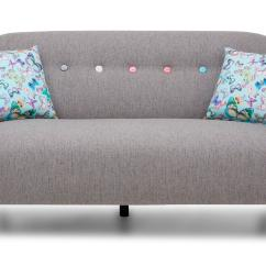 New Sofas Dfs How To Clean A Sofa Leather Mira Grey Fabric Set Inc 3 Seater And Large Round