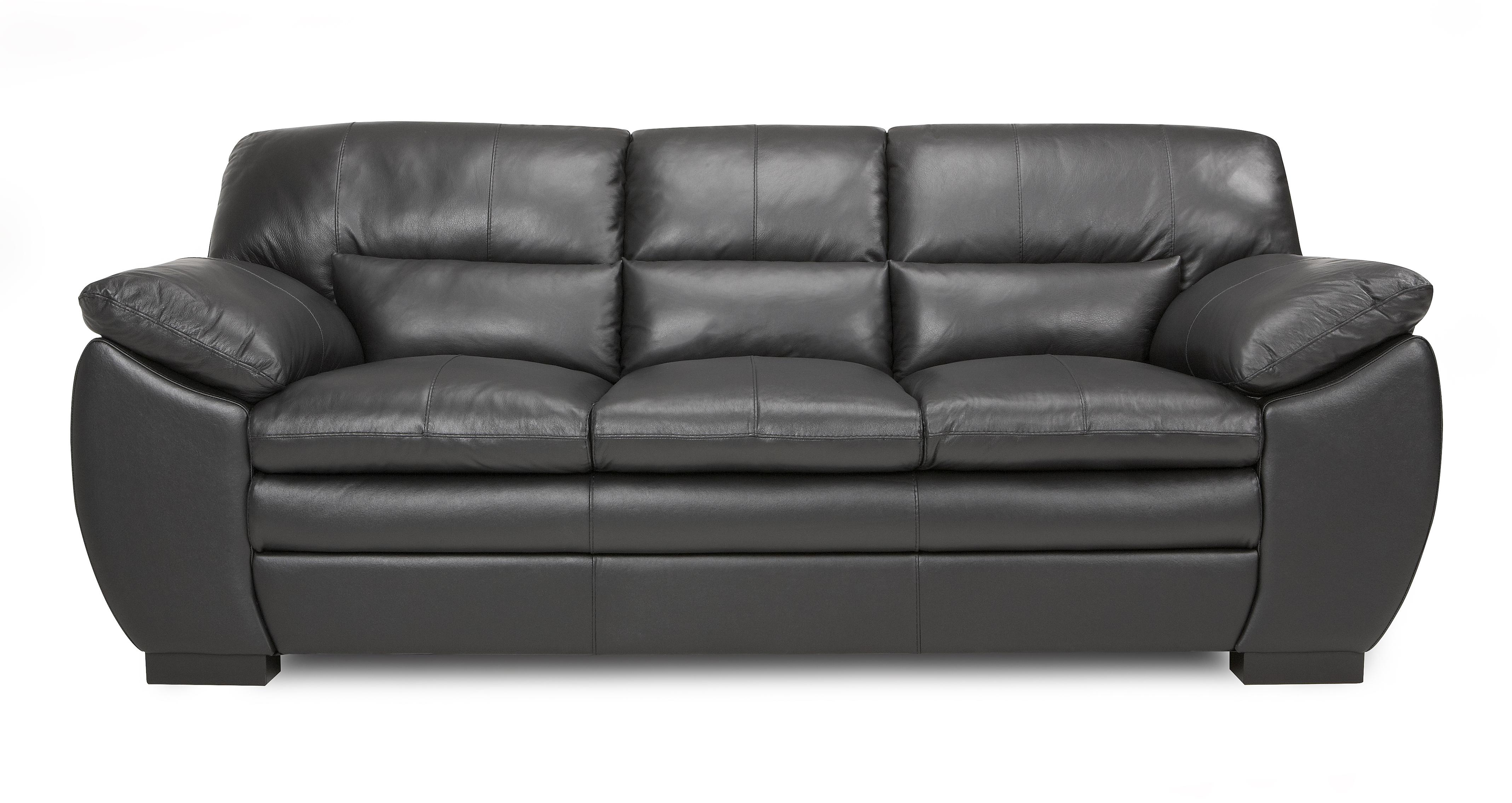 new sofas dfs sofa bed repairs london force black leather 3 seater