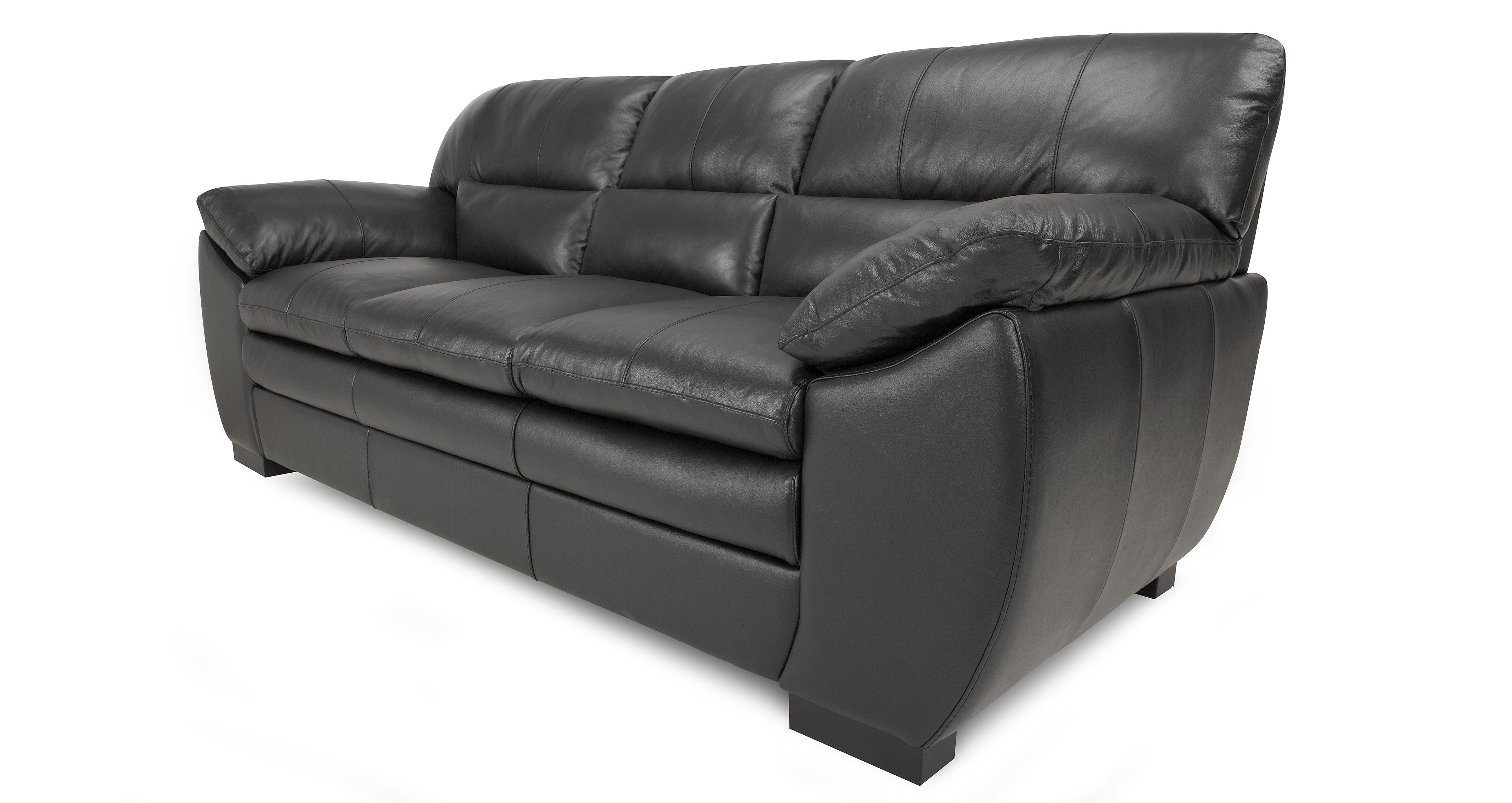 new sofas dfs bloomingdales leather sofa force black 3 seater