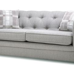 2 Seater Sofa Beds Dfs Sectional Sofas With Recliners Ashley Opera Ash Grey Fabric 3 Bed