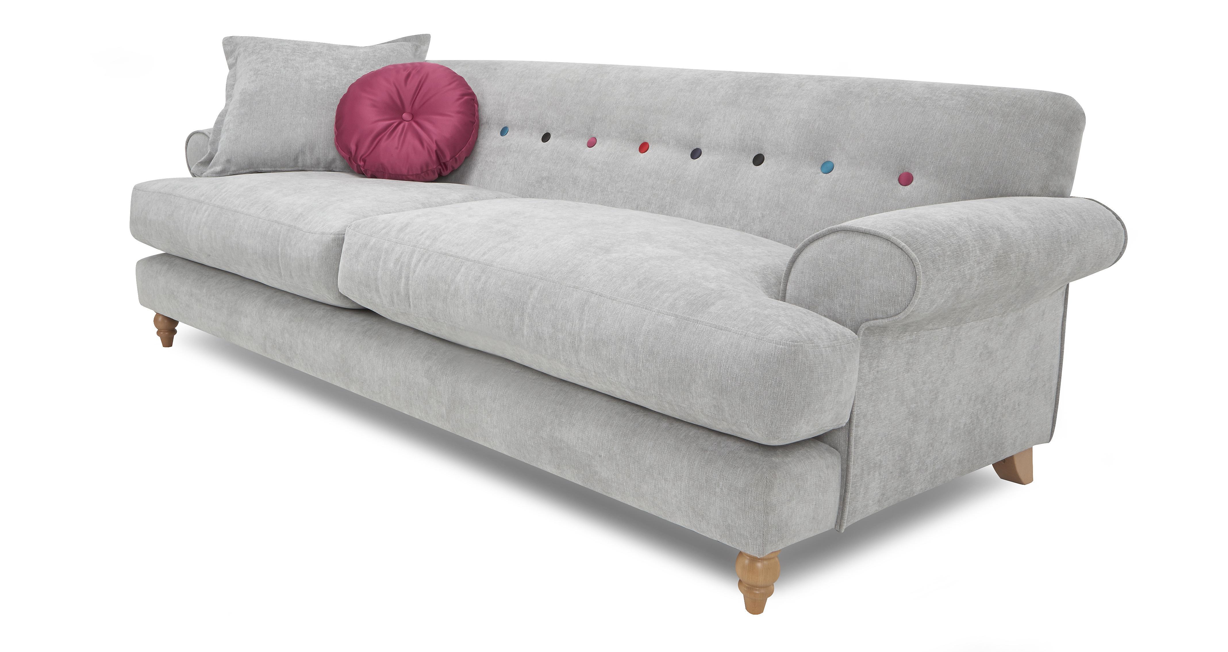 sofa 4 seater surefit textured linen one piece slipcover dress womens clothing four sofas