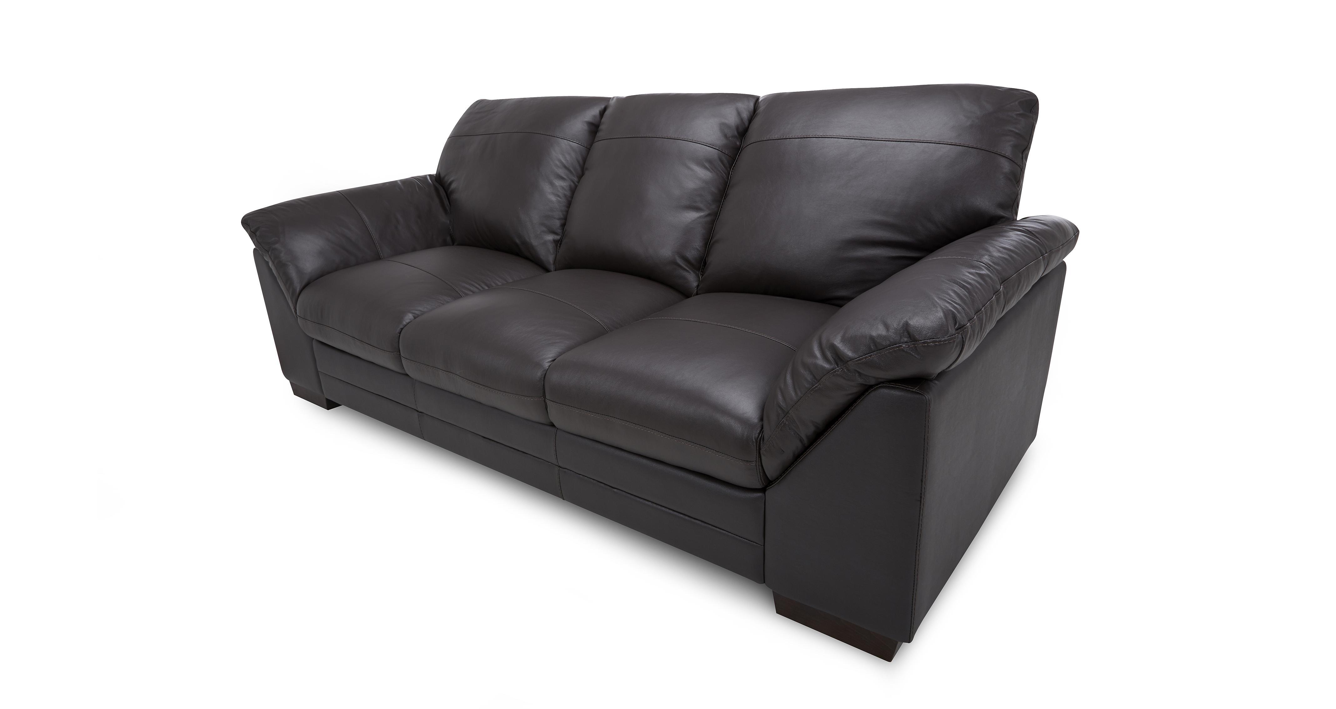 leather sofa brown dfs macy s cognac palmo mocha set inc 3 seater 2