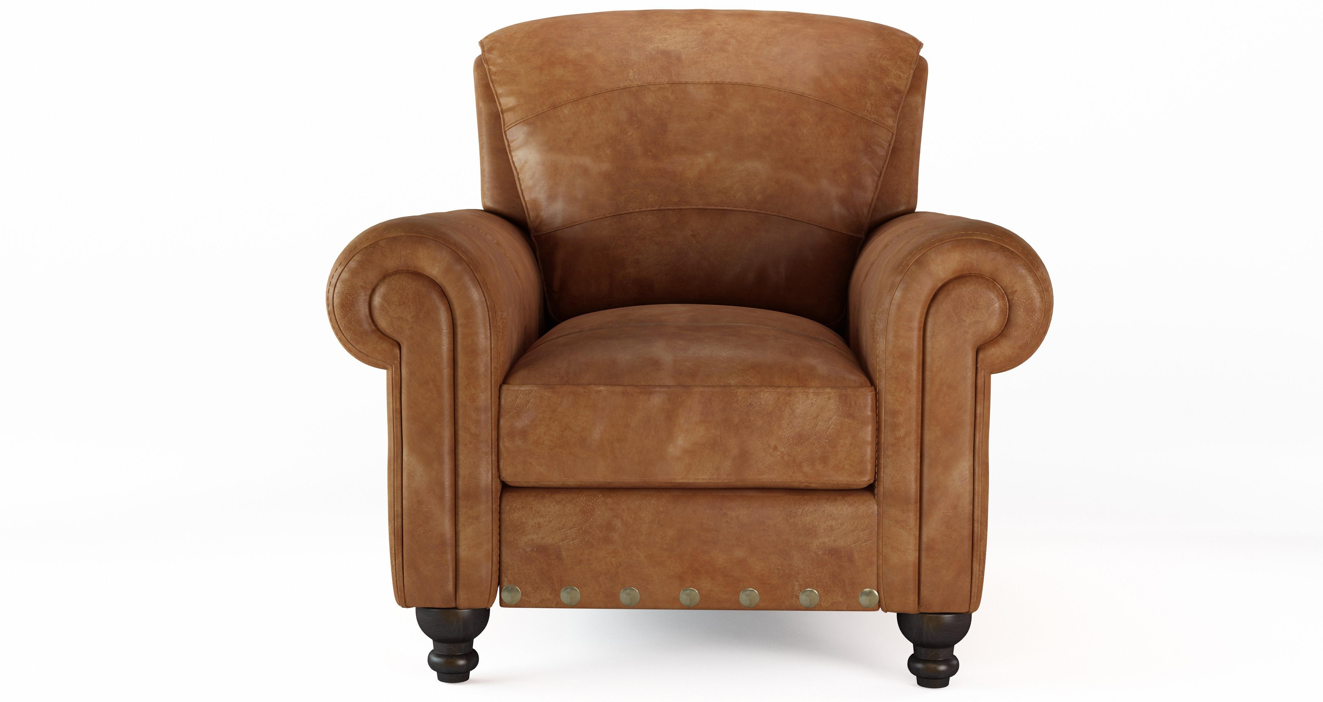 bedroom chair dfs without arms called perth arm 100 real natural leather tan ranch