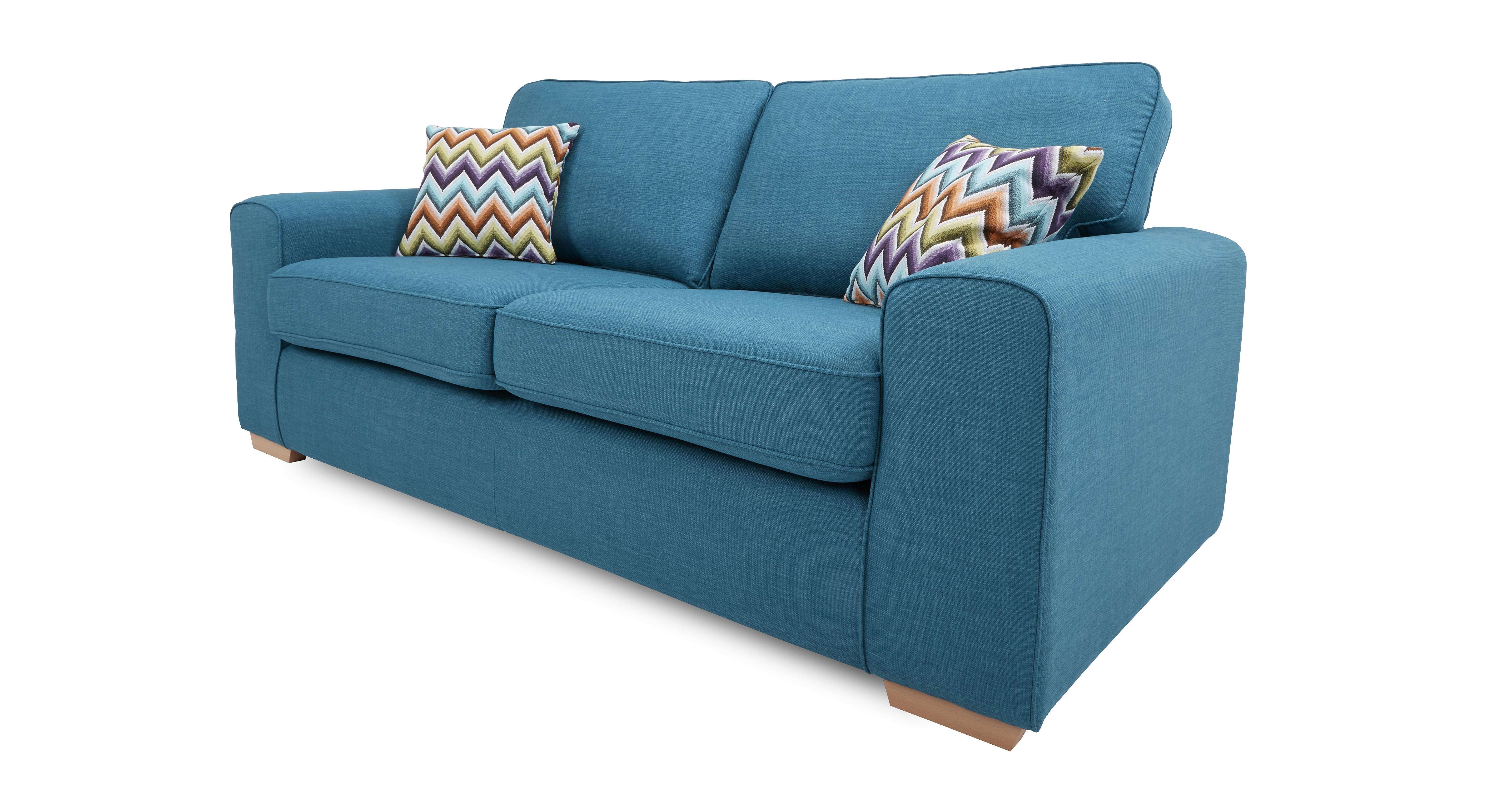 pizzazz sofa bed leather furniture stores nyc dfs teal brokeasshome