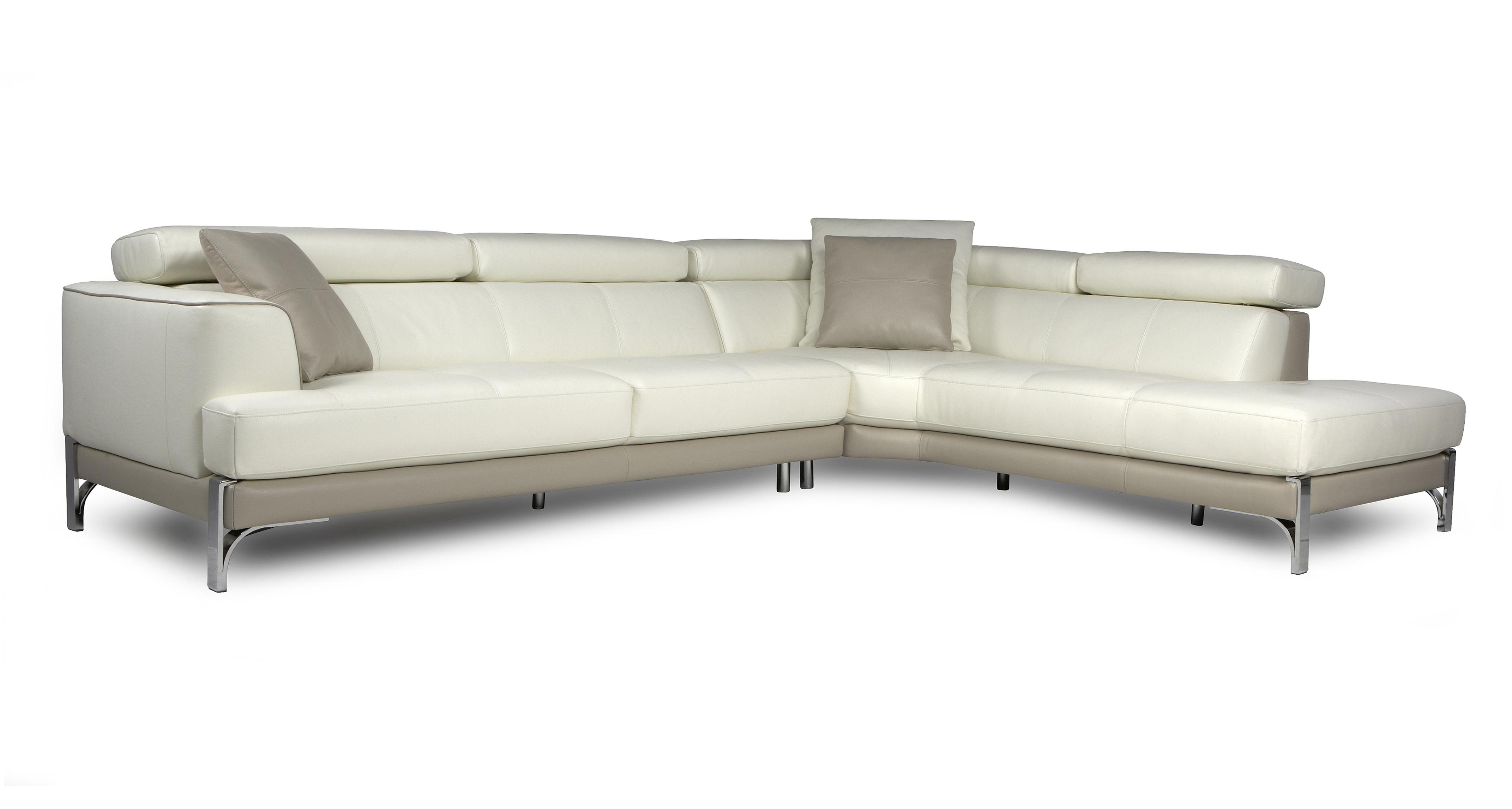 dfs corner sofa and swivel chair canape chic stage leather left hand facing large