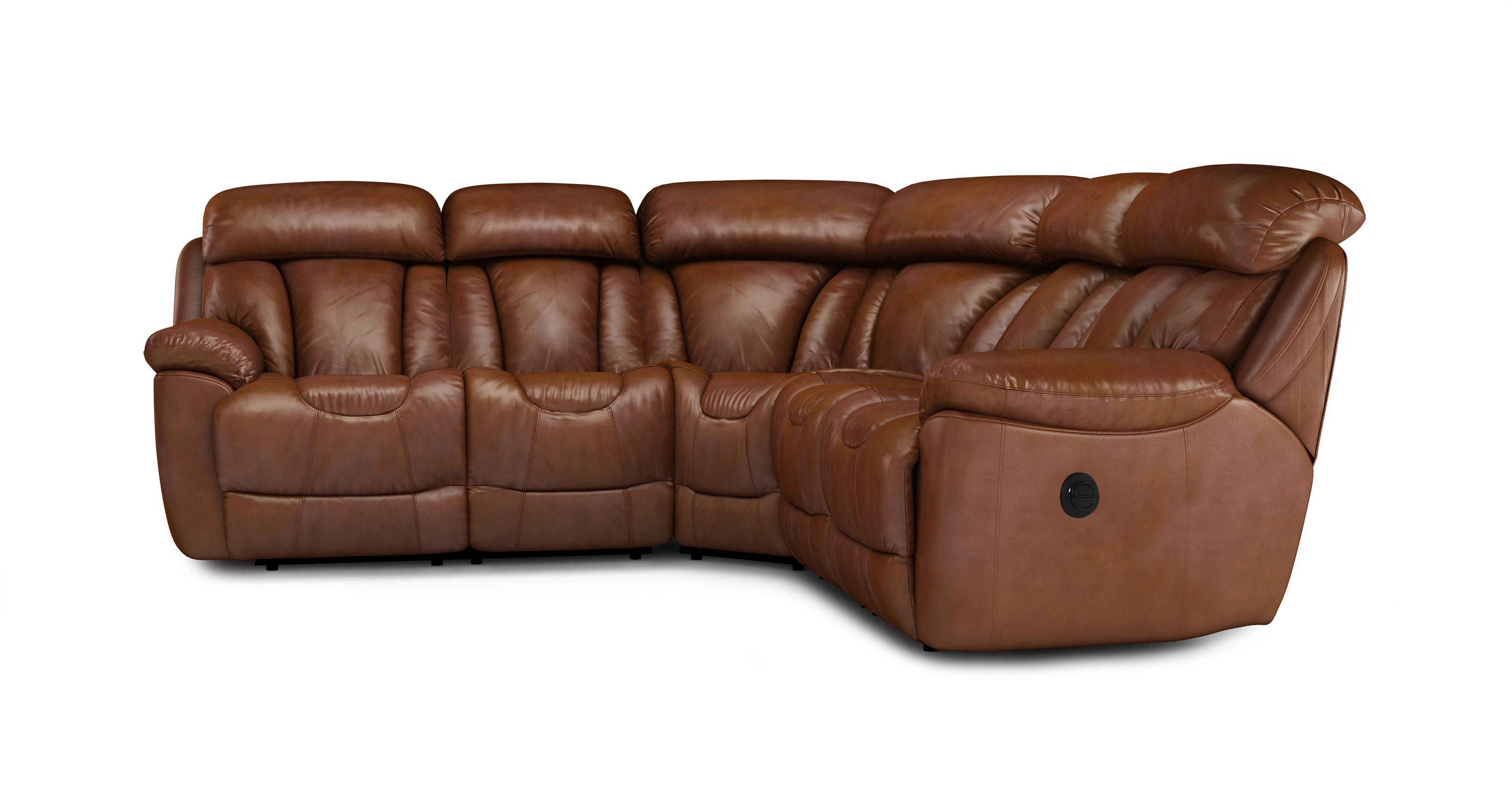100 real leather corner sofa oversized slipcover dfs supreme power recliner