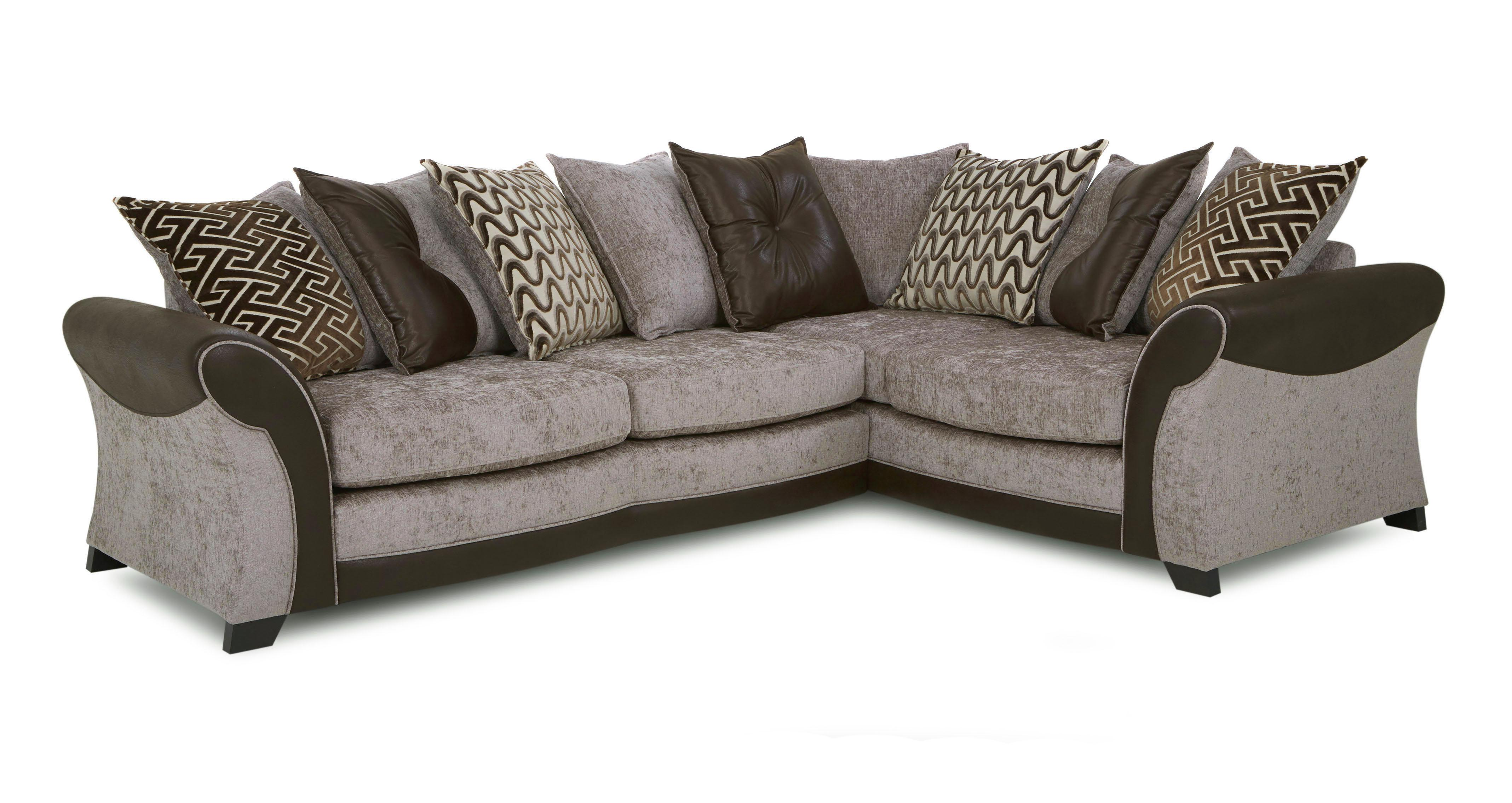 dfs metro sofa bed cheap black rattan corner theo chocolate fabric right hand facing delux