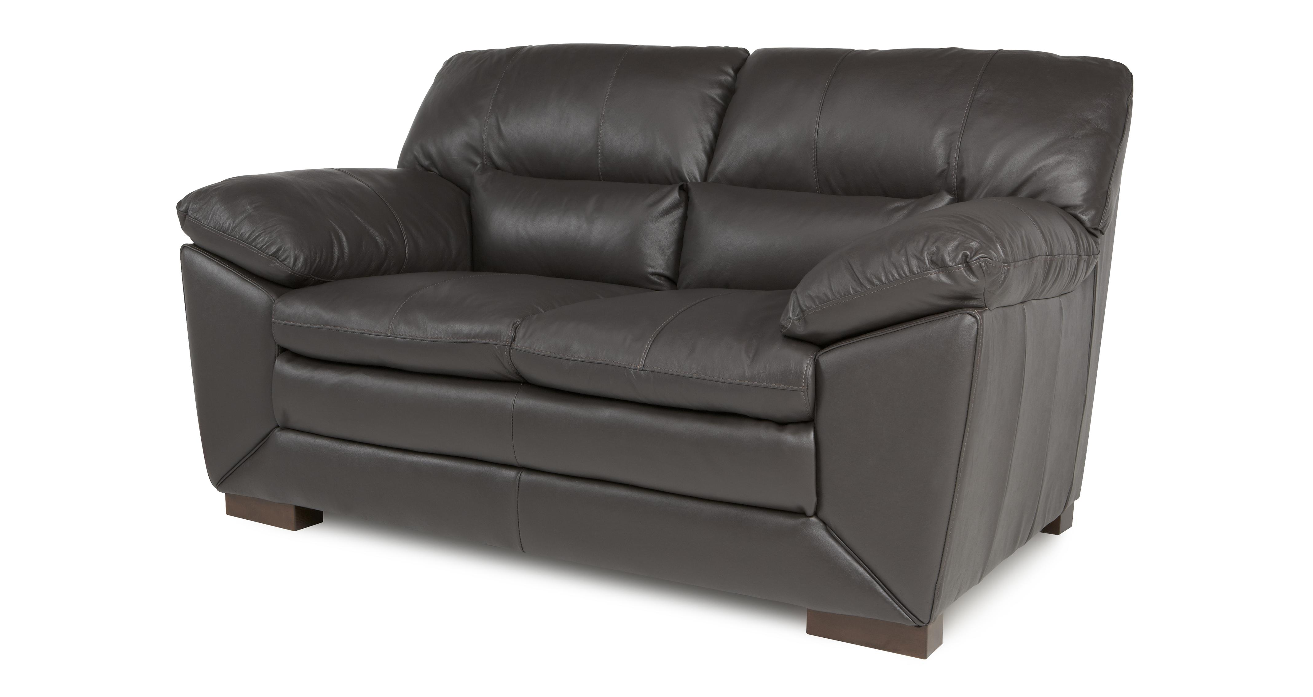 2 seater leather sofas at dfs cheap small double sofa beds valiant mocha brown ebay