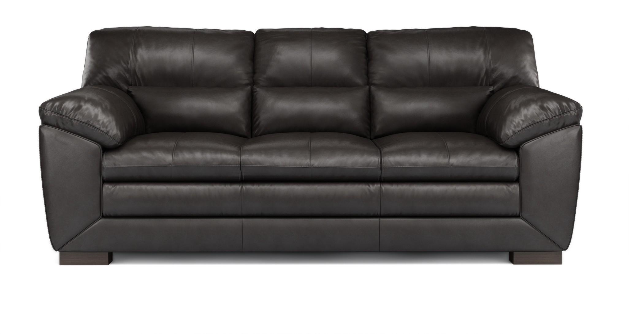 leather sofa brown dfs austin stores valiant mocha 3 seater ebay