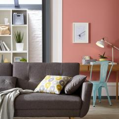 Pink Sofa Browse Uk Jennifer Convertibles Linda Bed Beds Futon Chair With Free Delivery Dreams Be Inspired By Our