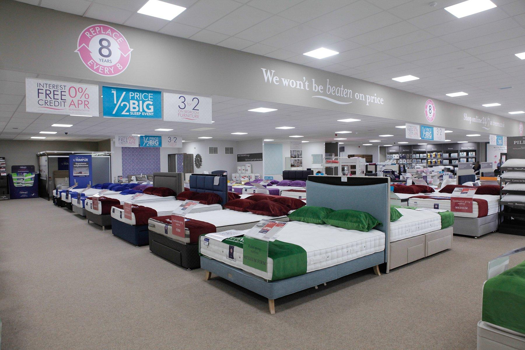 Dreams Store In Glasgow Uddingston Beds Mattresses