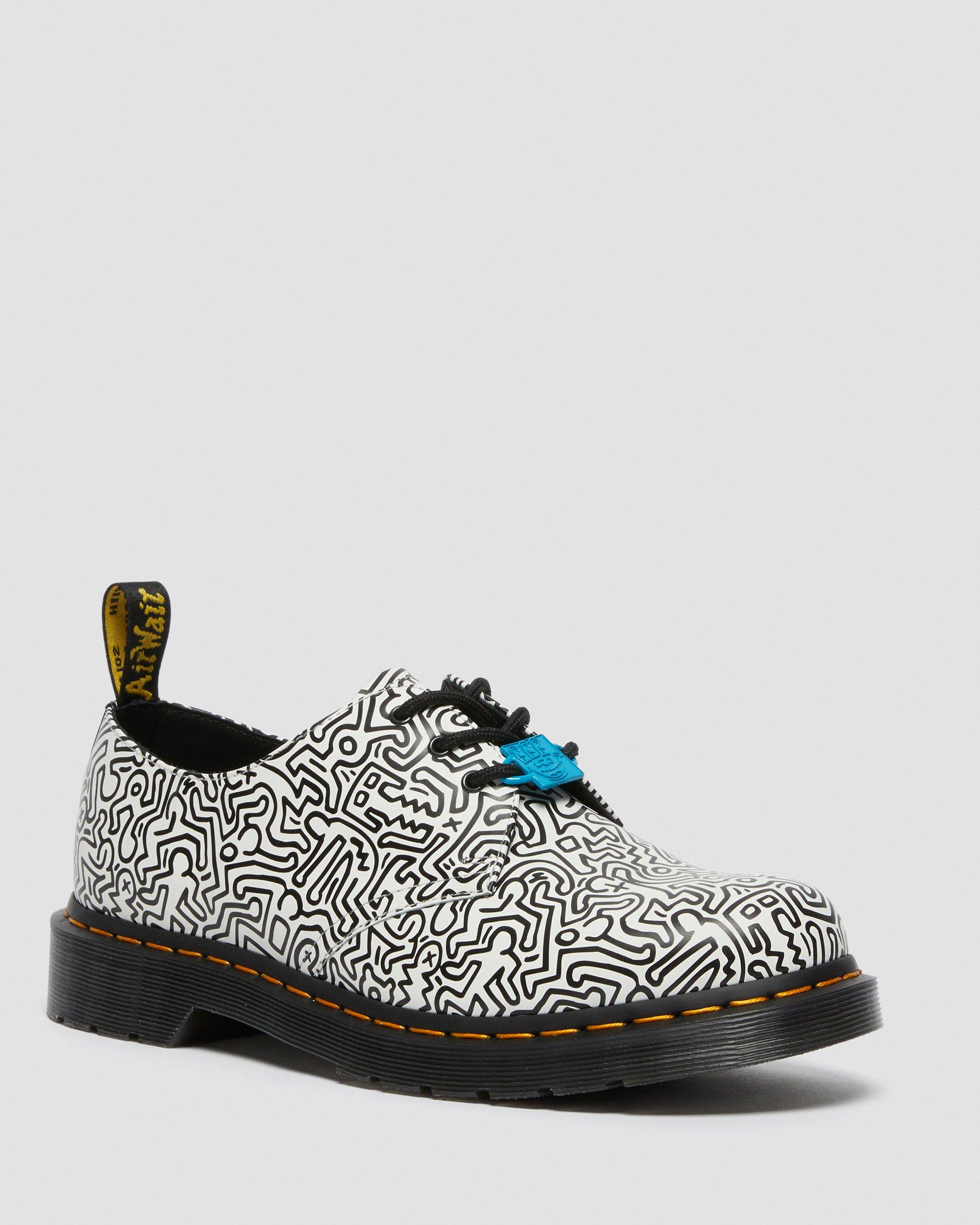 KEITH HARING 1461 PRINTED LEATHER OXFORD SHOES | Dr. Martens